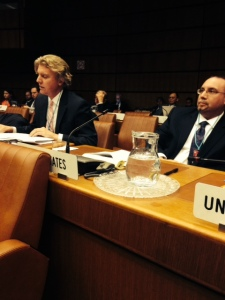 Sundahl at UN