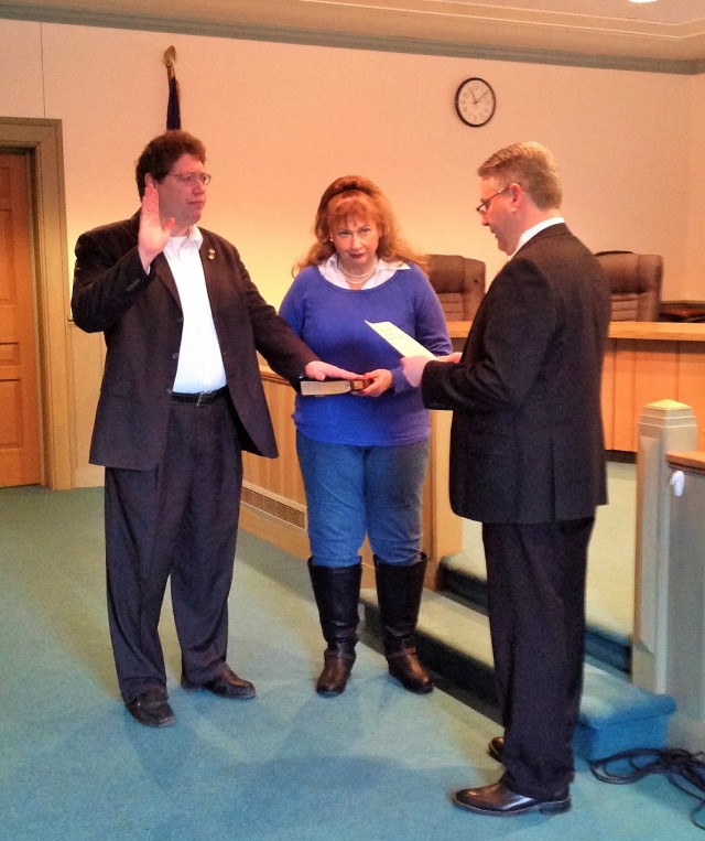 John Plecnik Swearing In